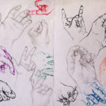Art School Admissions Portfolio: Gesture Drawings