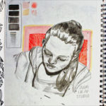 Art School Admissions Portfolio: Sketchbook Page