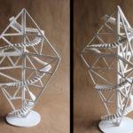 Art School Admissions Portfolio: Foam Board Sculpture