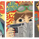 Art School Admissions Portfolio: Gouache Painting