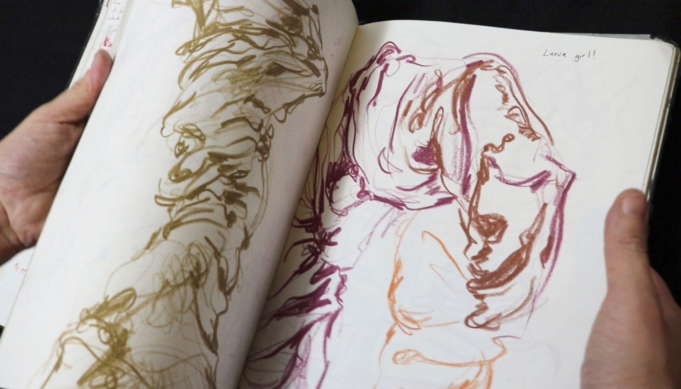 Artist Sketchbook Drawings