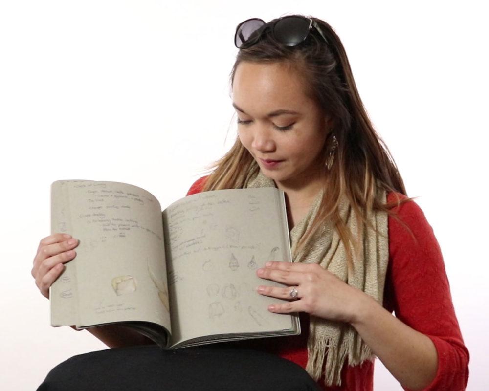 Artist Sketchbook, Annelise Yee