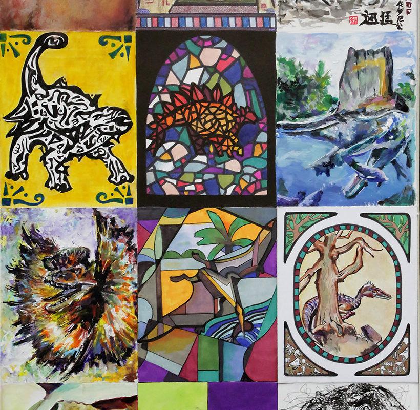 Art School Admissions Portfolio: Mixed Media Drawing