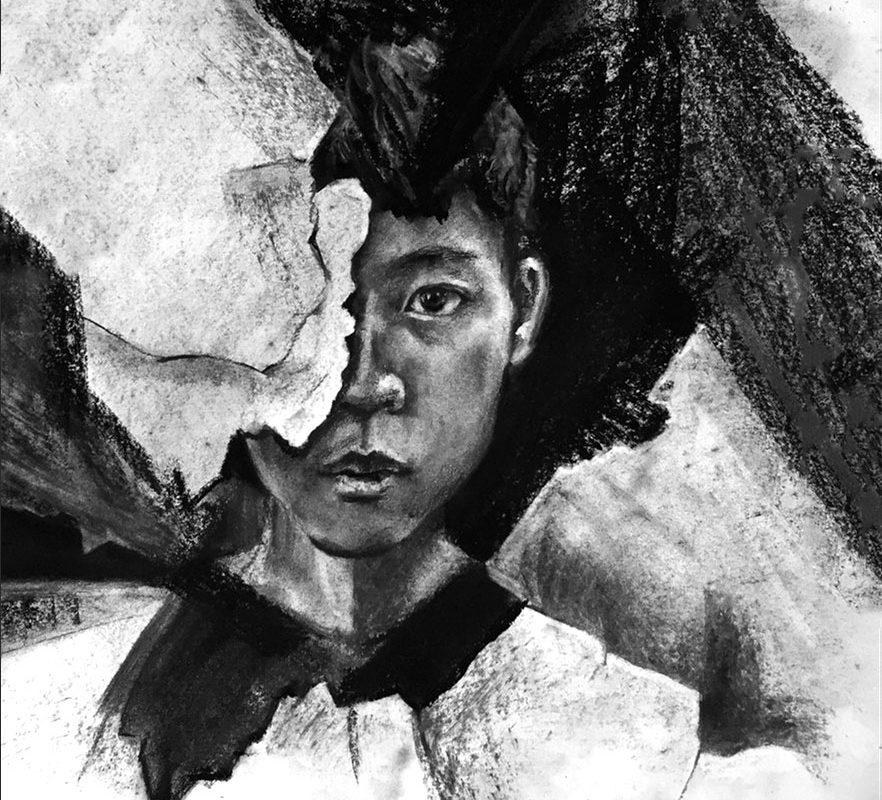 Art School Admissions Portfolio: Charcoal Drawing