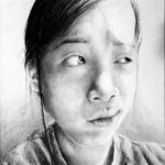 Art School Admissions Portfolio: Pencil Portrait Drawing