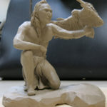 Art School Admissions Portfolio: Clay Figure Sculpture