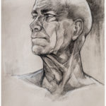Art School Admissions Portfolio: Charcoal Portrait Drawing