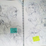 Art School Admissions Portfolio: Sketchbook Drawings