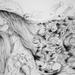 Art School Admissions Portfolio: Pen Drawing Illustration