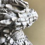 Art School Admissions Portfolio: Clay Dragon Sculpture