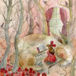 Art School Admissions Portfolio: Watercolor Painting Illustration
