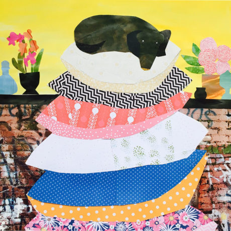 Mixed Media Collage by Cate Christen Waung