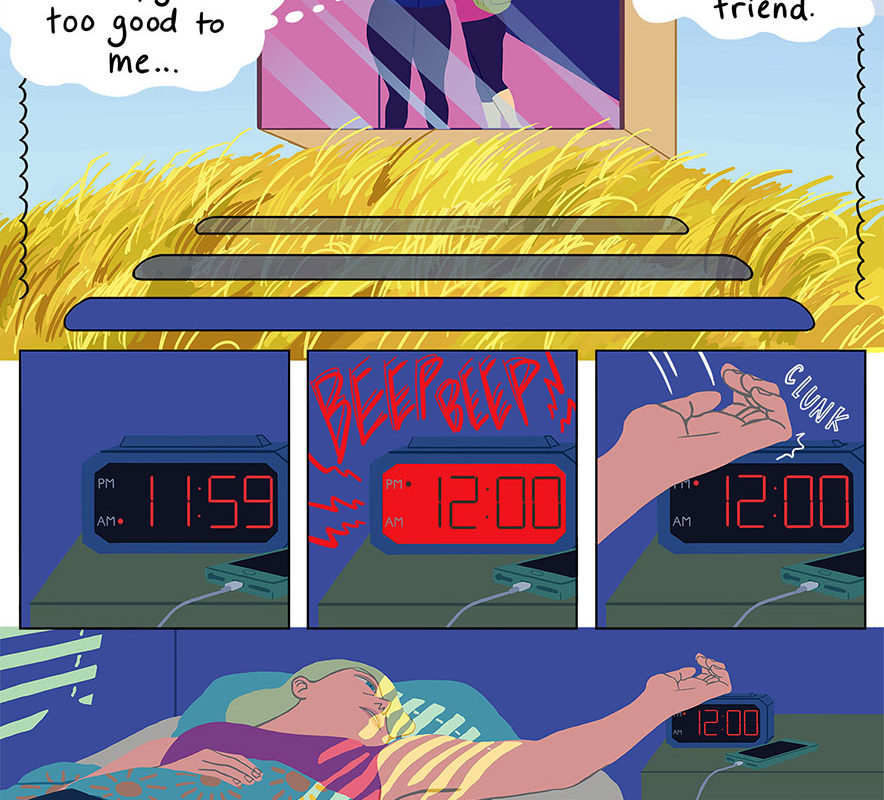 Digital comic by Catherine Huang