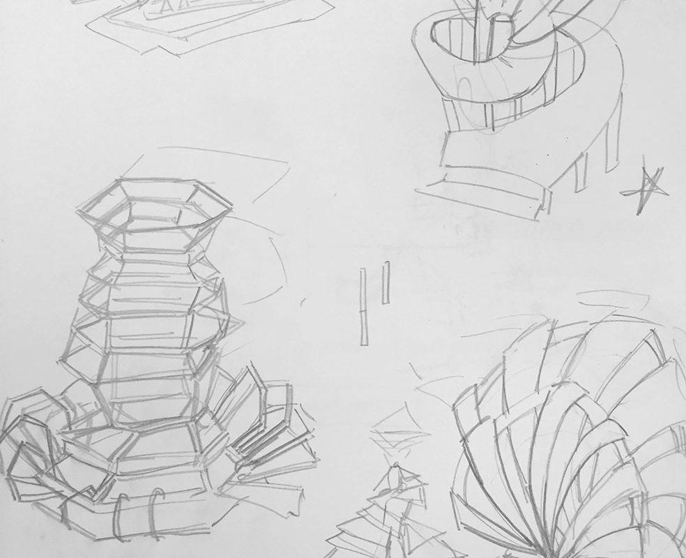 Concept Pencil Sketches