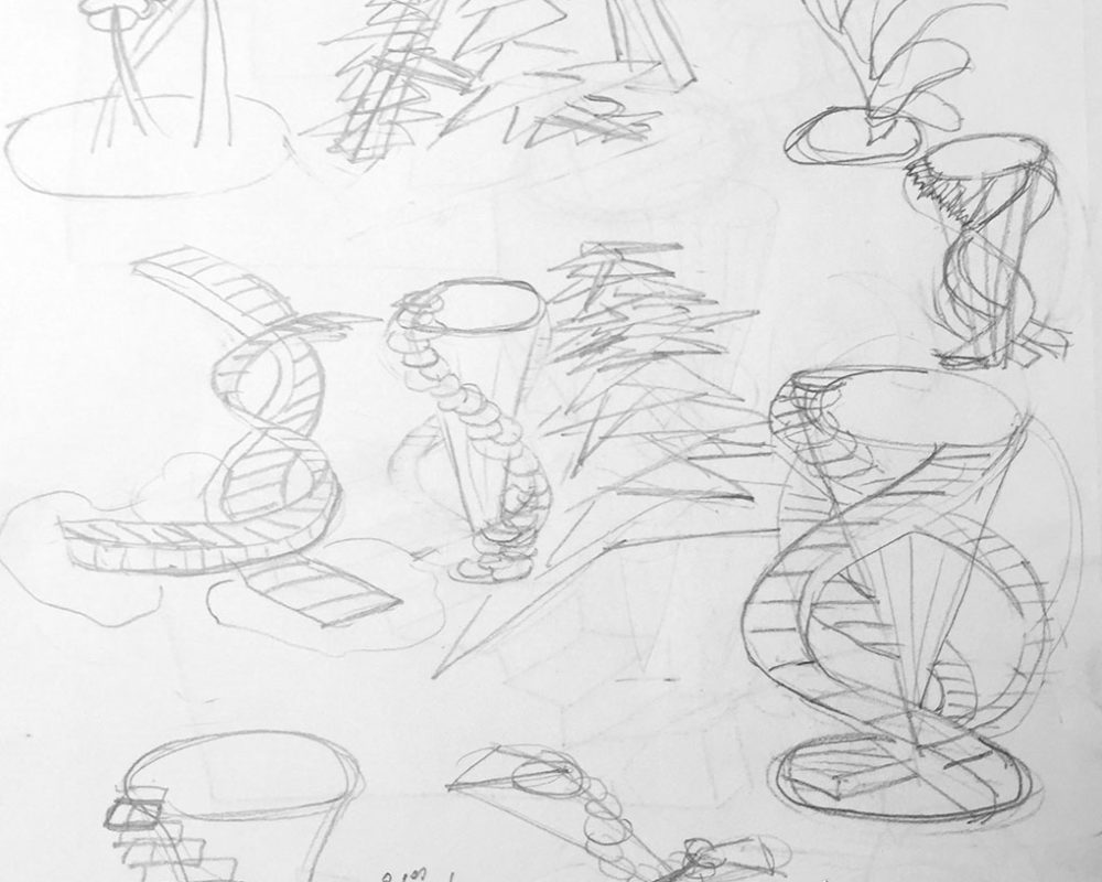 Concept Pencil Sketches