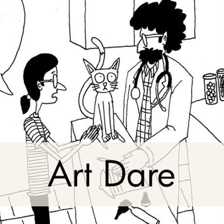Comic by Julie Sharpe