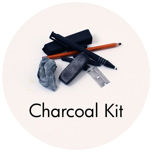 Art Supplies: Charcoal Drawing