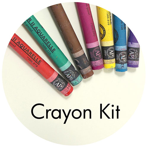 Art Supplies: Caran d'Ache Crayon Drawing Kit