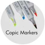 Art Supplies: Copic Markers