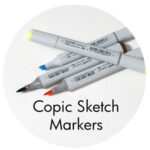 Art Supplies: Copic Sketch Markers