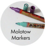 Art Supplies: Molotow Markers