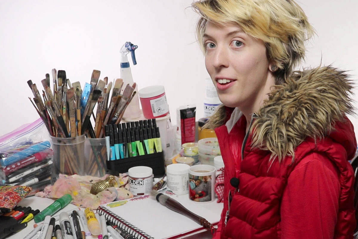 Lauryn Welch, Painter & Performance Artist