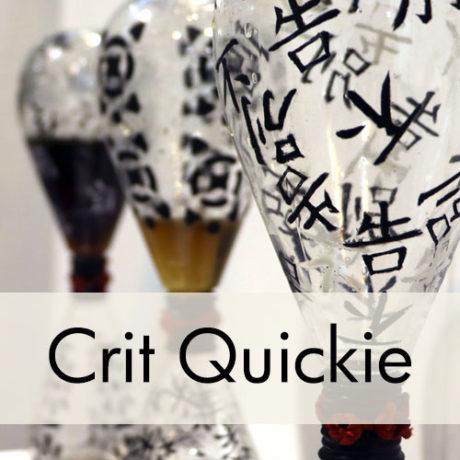 Lianna Li, mixed media glass sculpture