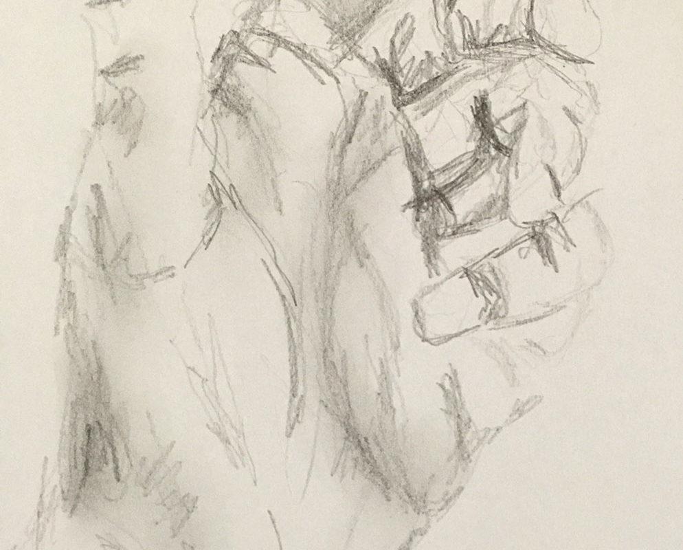 Graphite Drawing, Britta van Aalst, Germany