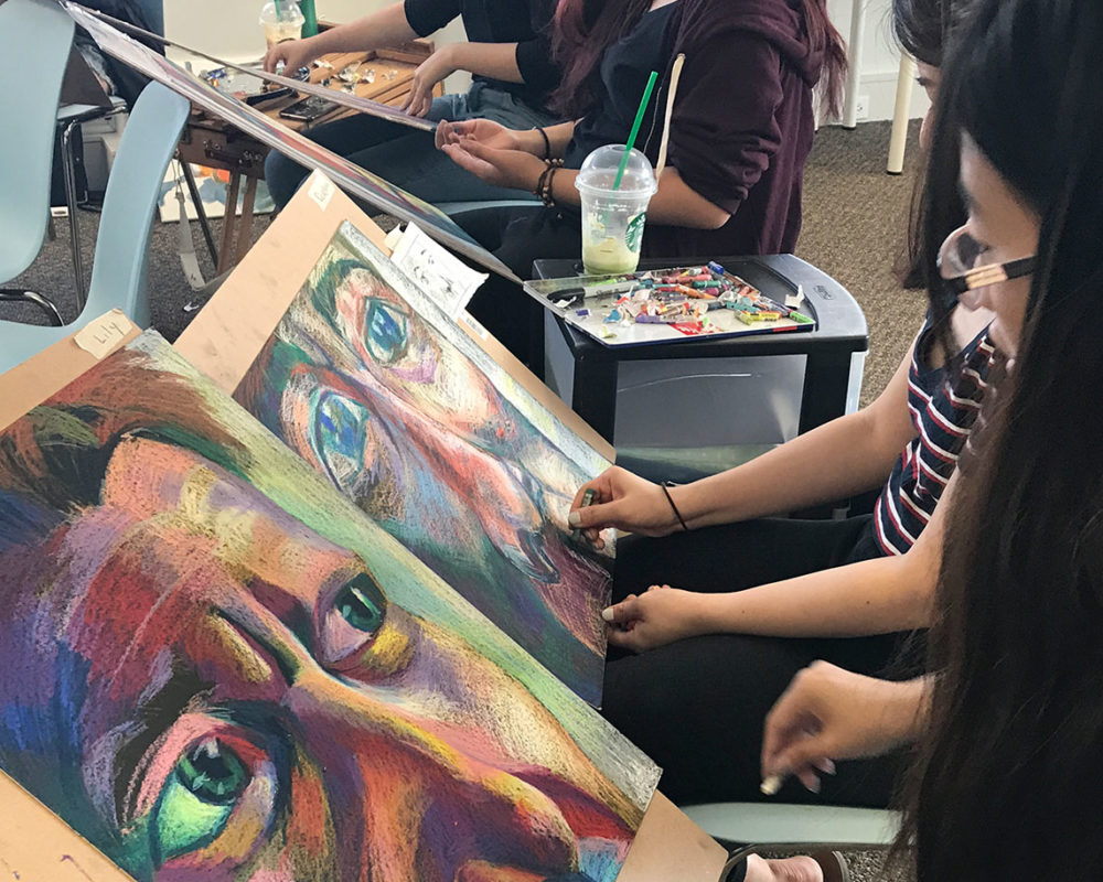 Art Prof Lecture/Drawing Workshops at Foresight Academy, Vancouver, Canada
