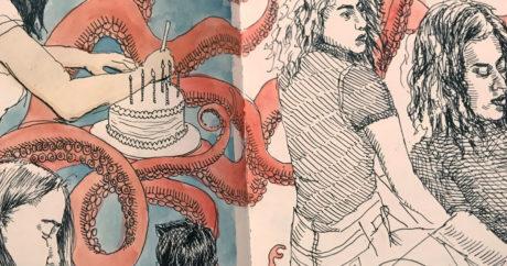 Julie Sharpe, sketchbooks