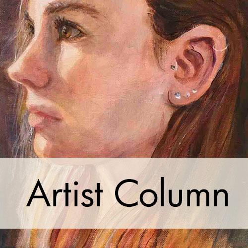Amy Hollshwandner, oil painting