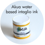 Art Supplies: Akua Water-based Intaglio Ink