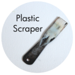Art Supplies: Plastic Scraper