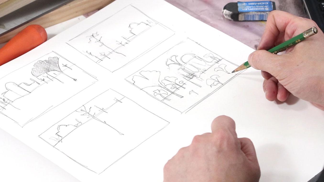 6. Thumbnail Sketches II