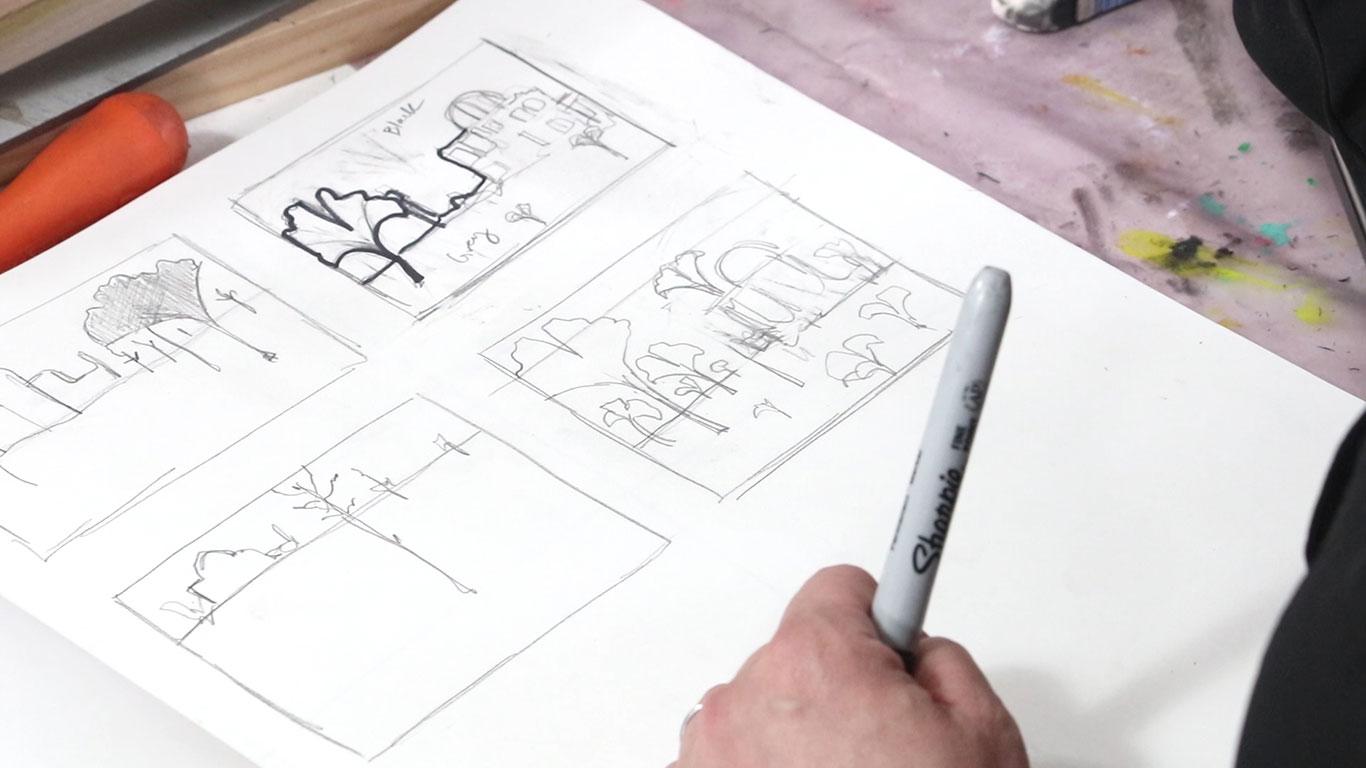 7. Thumbnail Sketches III