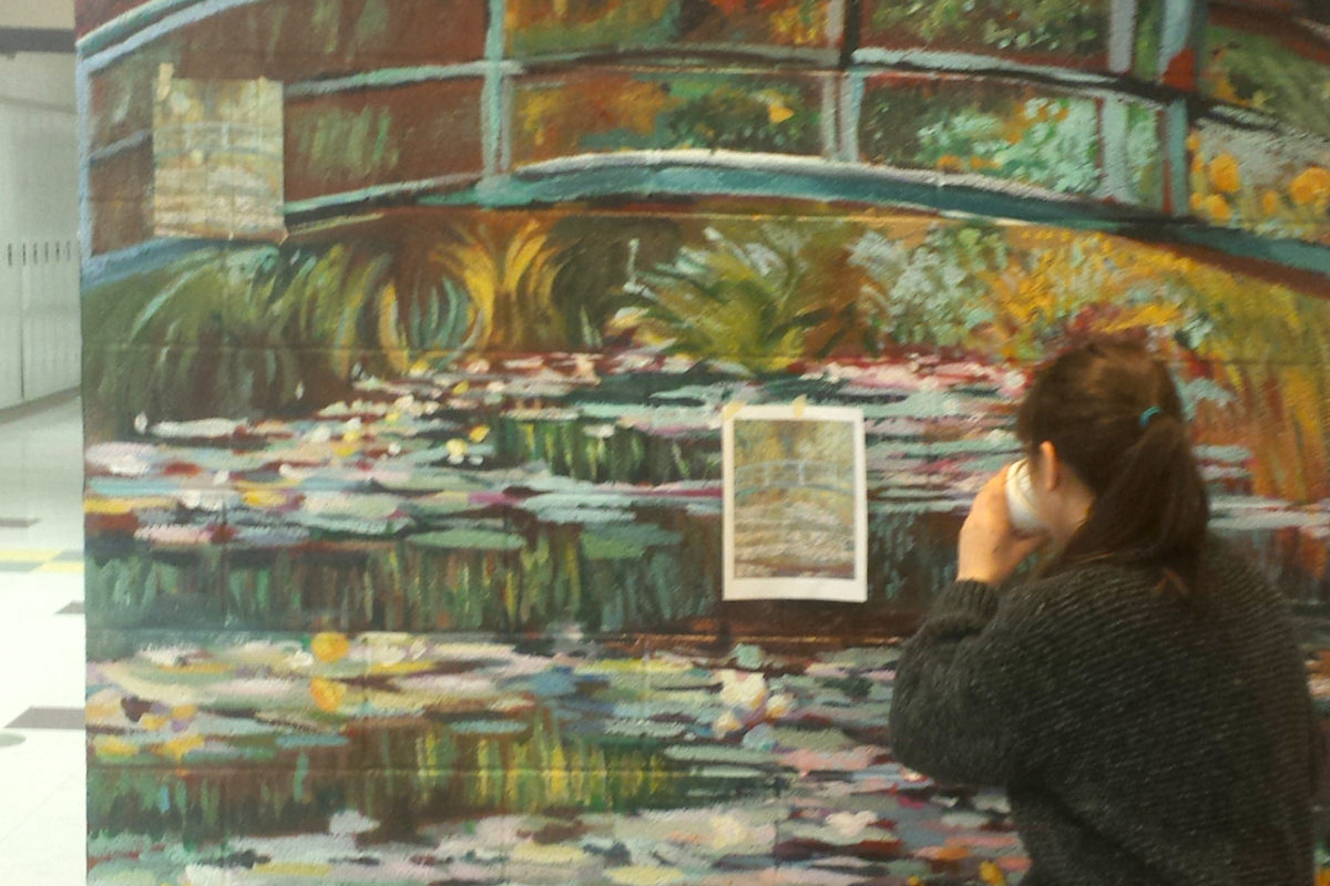 Resurrecting Art History: Waterlilies That Connected a Community
