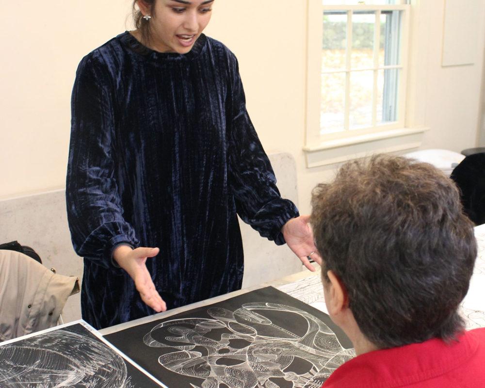 Art Prof TA Deepti Menon reviews Anne-Marie Delaunay-Danizio's portfolio