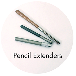 Art Supplies: Pencil Extenders