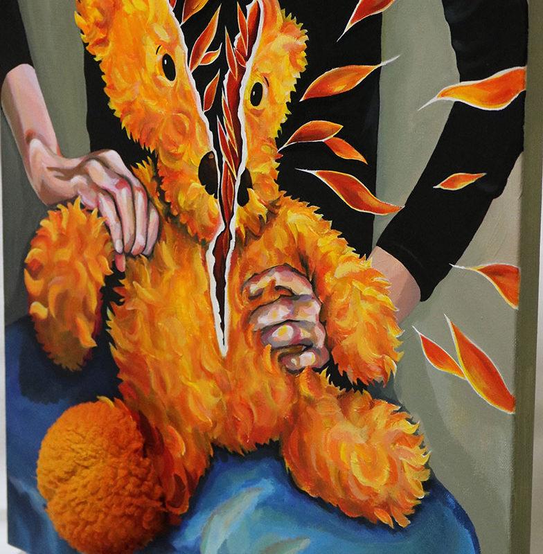 Acrylic Painting, Hyeji Kim