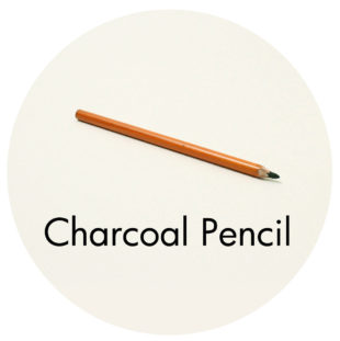 Art Supplies: Charcoal Pencil