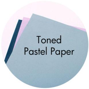Art Supplies: Toned Pastel Paper