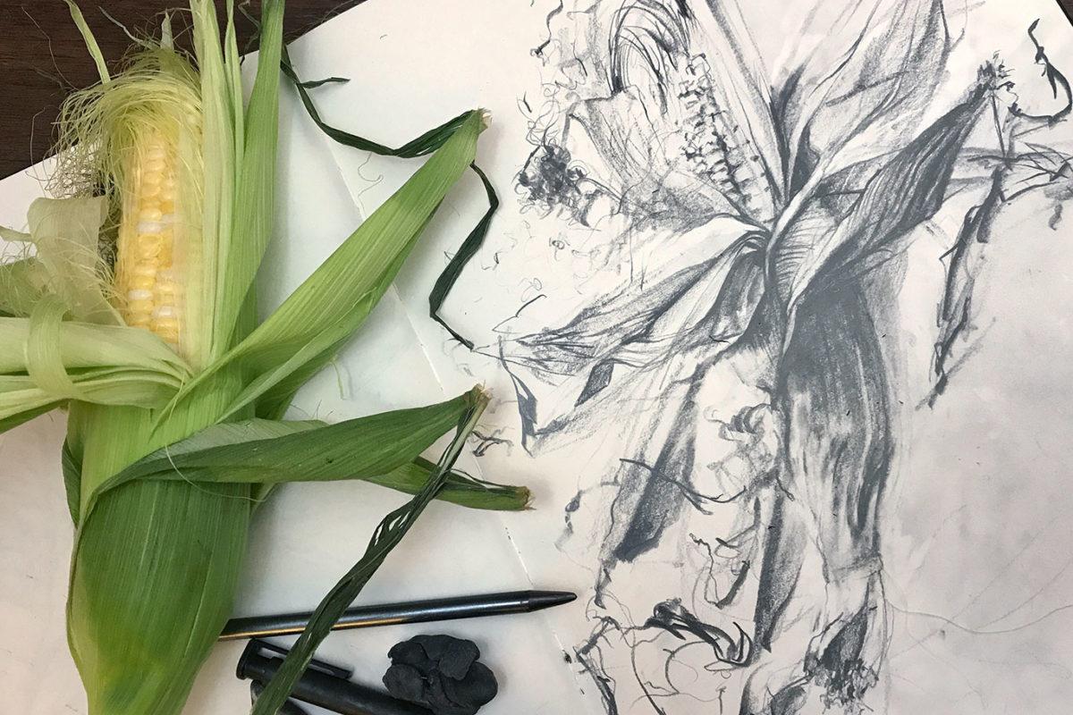 Graphite Drawing, RISD Adjunct Professor Clara Lieu