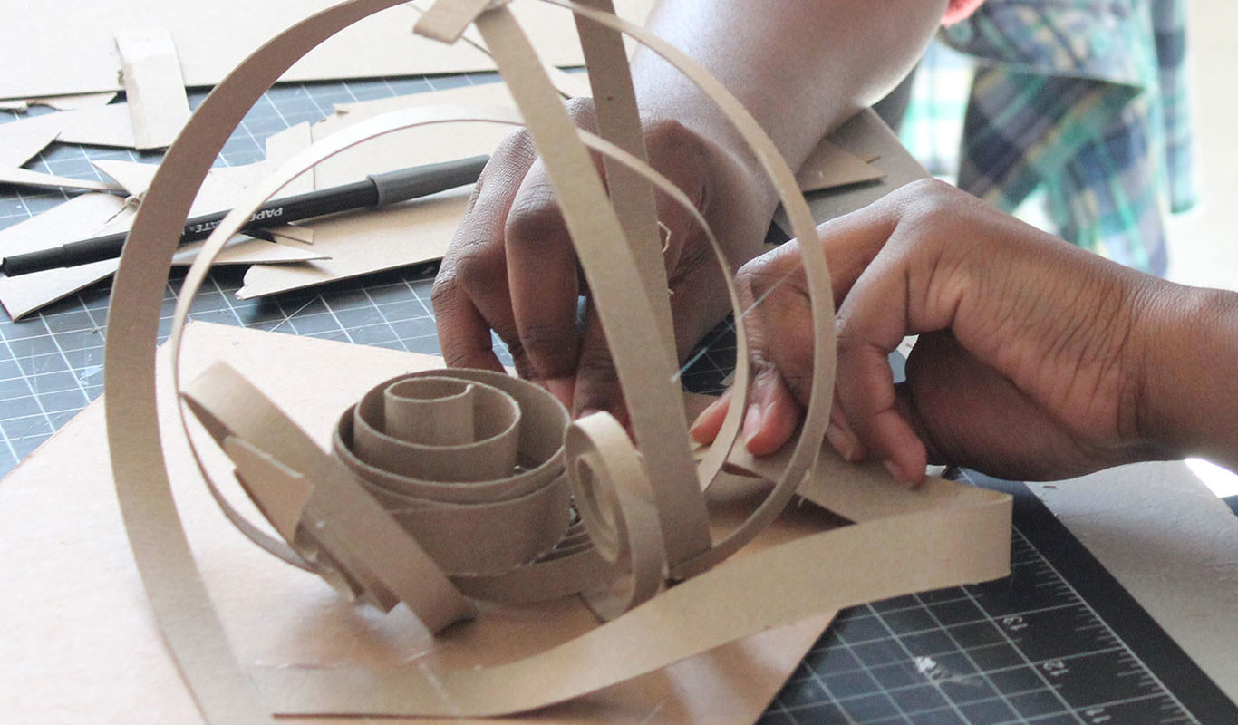 Chipboard Personality Sculptures
