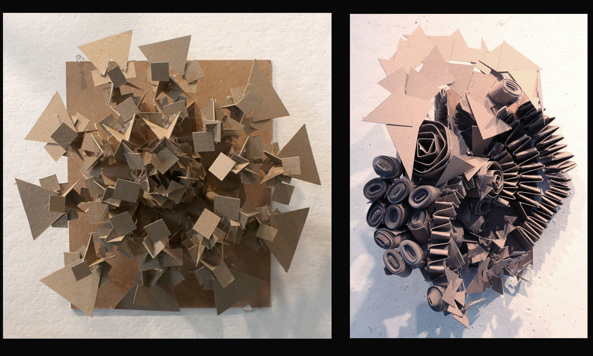 Chipboard Personality Sculptures, Mica Furtado