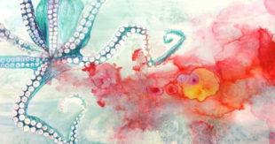 Watercolor Painting, Amy Hollshwandner