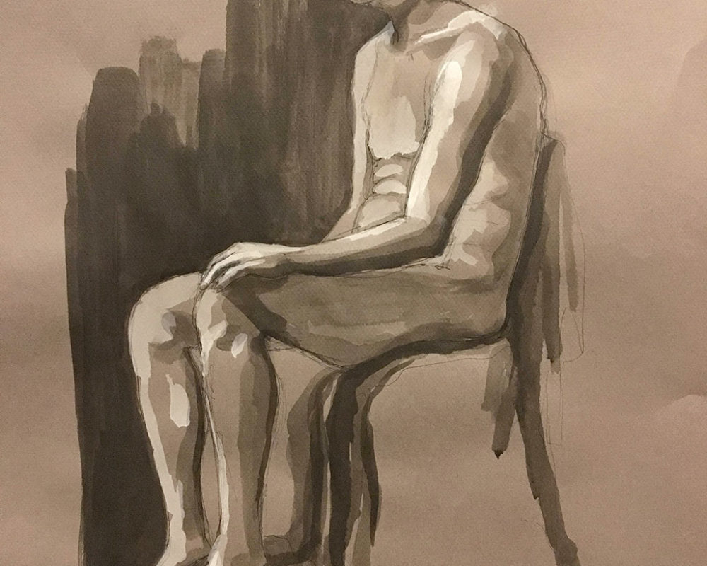 Amy Hollshwandner, Figure Drawing