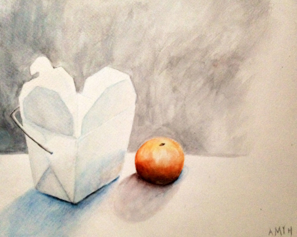 Amy Hollshwandner, watercolor painting