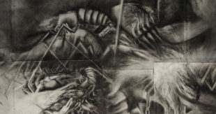 Charcoal Drawing, Piper Matthew