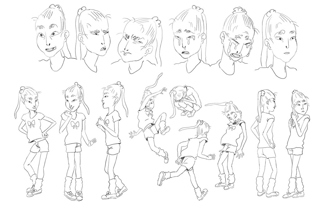 Character Designs, Catherine Huang