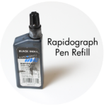 Art Supplies: Rapidograph Pen Refill